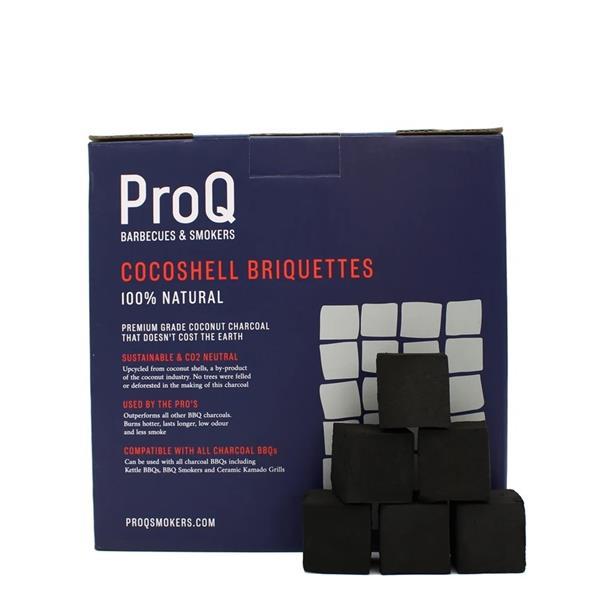 Pro Q Cocoshell 10kg Charcoal Briquettes Image 1