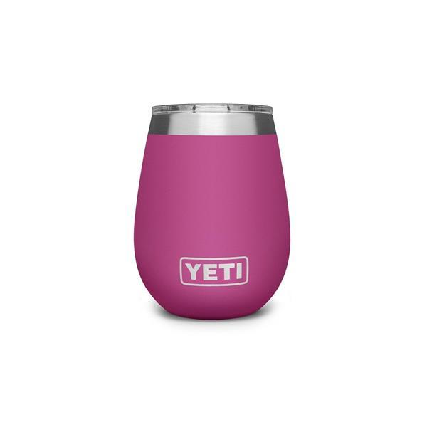 Yeti Rambler 10oz Wine Tumbler MS - Pink Image 1