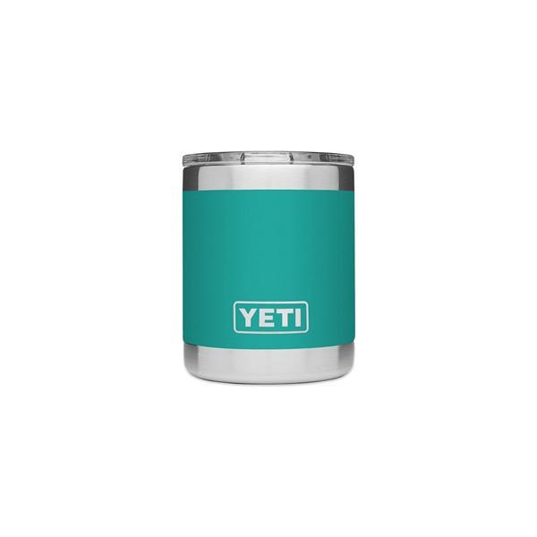 Yeti Rambler 10oz Lowball - Aquifer Blue Image 1