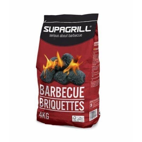 CPL 4 X 4kg Bags Supagrill Charcoal Briquettes Image 1