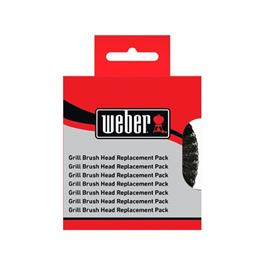 Weber Scrubbing Brush Replacement Heads (2 Pack) thumbnail