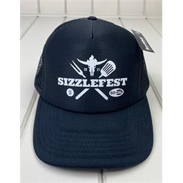 Sizzlefest Trucker Hat - Black thumbnail
