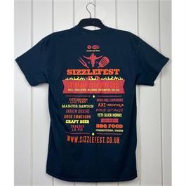 Sizzlefest Festival T-shirt - XXL thumbnail