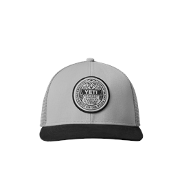 Yeti Logo Trapping License Trucker - Grey/Black thumbnail