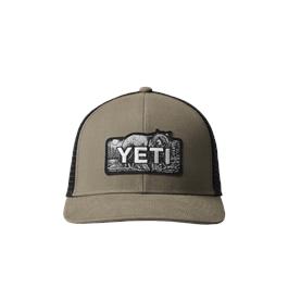 Yeti Bear Badge Trucker Taupe/Black thumbnail
