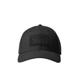 Yeti Velcro Badge Hat - Black thumbnail