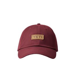 Yeti Leather Logo Trucker - Harvest Red thumbnail
