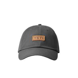 Yeti Leather Logo Trucker - Dark Grey thumbnail