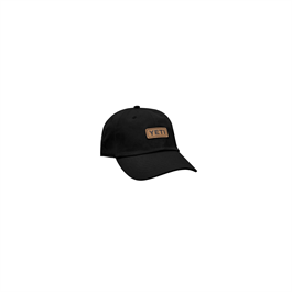 Yeti Leather Logo Trucker - Black thumbnail