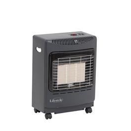 Lifestyle Mini Heatforce 4.2kw Radiant Portable Gas Heater - Grey thumbnail