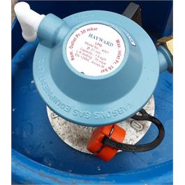 GasBoat 4001 Marine Clip-on Regulator  BS EN 16129 Annex M Thumbnail Image 2