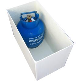GasBoat 4118 Gas Locker 4.5kg Twin Thumbnail Image 0
