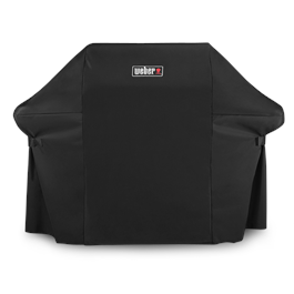 Weber Premium Barbecue Cover - Fits Genesis II 3 Burner and Genesis 300 Series thumbnail