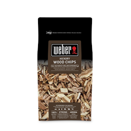 Weber Hickory Wood Chips - 0.7kg thumbnail
