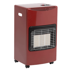 Lifestyle Seasons Warmth Red 4.2kw Radiant Portable Gas Heater  Thumbnail Image 0