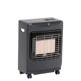 Lifestyle Black Mini Heatforce 4.2kw Radiant Portable Gas Heater thumbnail