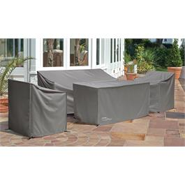 Kettler Palma Cover - Fire Pit Table - Grey Thumbnail Image 1