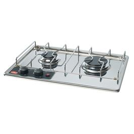 ENO Marine HYDRA 2 Burner Build in Hob with Ignition thumbnail