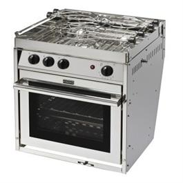 Force 10 Marine European Standard 3 Burner Galley Range thumbnail
