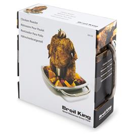 Broil King Imperial Collection Chicken Roaster with Pan Thumbnail Image 4