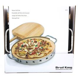 Broil King Imperial Collection Pizza Stone Grilling Set Thumbnail Image 8