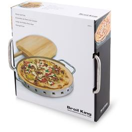 Broil King Imperial Collection Pizza Stone Grilling Set Thumbnail Image 9