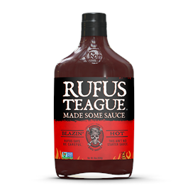 Rufus Teague Blazin Hot BBQ Sauce 453g thumbnail