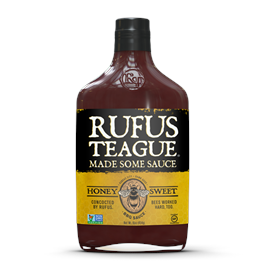 Rufus Teague Honey Sweet BBQ Sauce 453g thumbnail