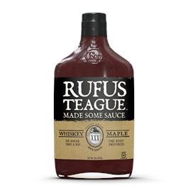 Rufus Teague Whiskey Maple BBQ Sauce 453g thumbnail