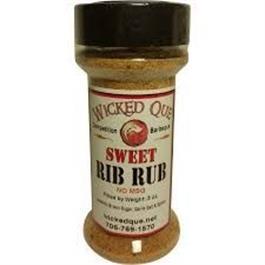 Wicked Que Sweet Rib Rub - 141g (5oz) thumbnail