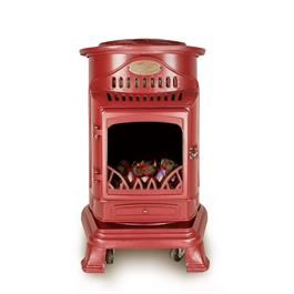 Provence Calor Real Flame Effect 3.4kW Red Gas Heater thumbnail