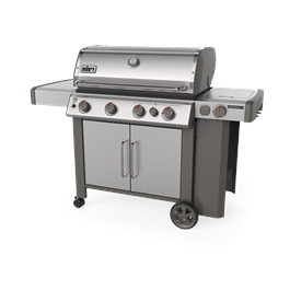 Weber Genesis II SP-435 GBS Gas Barbecue (Stainless Steel) Thumbnail Image 0