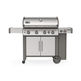 Weber Genesis II SP-435 GBS Gas Barbecue (Stainless Steel) Thumbnail Image 1