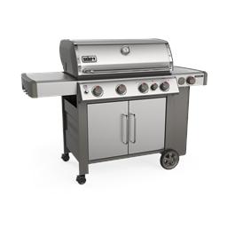 Weber Genesis II SP-435 GBS Gas Barbecue (Stainless Steel) Thumbnail Image 2