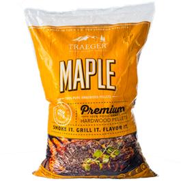 Traeger Maple Wood Pellets (20lb) Bag thumbnail