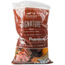 Traeger Signature Wood Pellets (20lb) Bag thumbnail