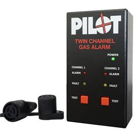 Pilot Twin Channel Gas Alarm MK2 12 or 24v thumbnail