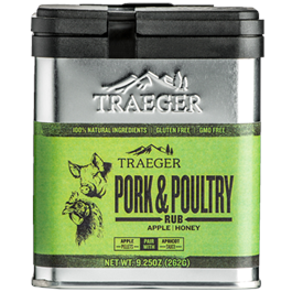 Traeger Pork & Poultry Rub (9.25oz) thumbnail