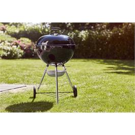 Weber Original Kettle E-5710 Charcoal BBQ Includes FREE GBS Hinged Cooking Grate Thumbnail Image 6