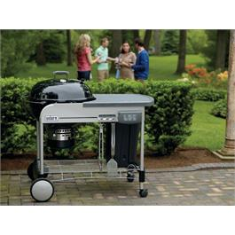 Weber Performer Deluxe GBS Charcoal Grill 57cm Thumbnail Image 4