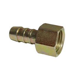 1/4 BSP Nut x 8mm Hose Nozzle thumbnail