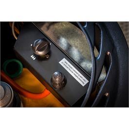 Provence Real Flame Effect 3.4kW Matt Black Gas Heater Thumbnail Image 4