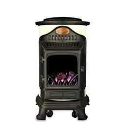 Provence Calor Real Flame Effect 3kW Cream Gas Heater Thumbnail Image 0