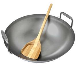 Big Green Egg Carbon Steel Wok for Eggspander Set thumbnail