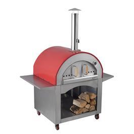 Alfresco Chef Milano Red Pizza Oven thumbnail