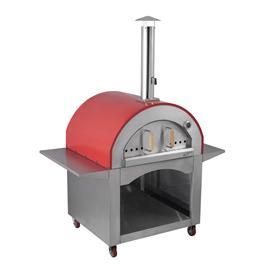 Alfresco Chef Milano Red Pizza Oven Thumbnail Image 1