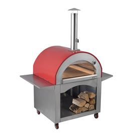 Alfresco Chef Milano Red Pizza Oven Thumbnail Image 2