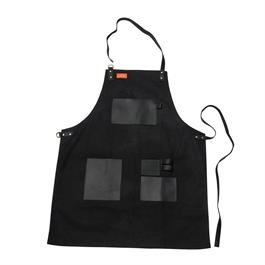 Traeger Black Canvas & Leather Apron thumbnail