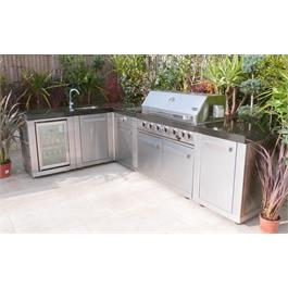 Mont Alpi 6 Burner Build-In Outdoor Kitchen  Thumbnail Image 1