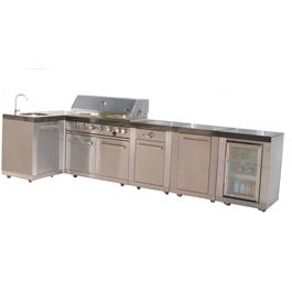Mont Alpi 6 Burner Build-In Outdoor Kitchen  Thumbnail Image 3